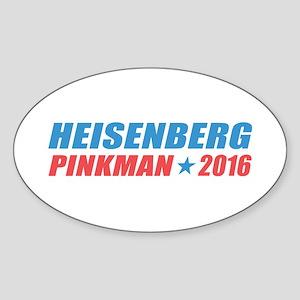 Heisenberg Pinkman 2016 Sticker