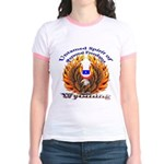 S.I. Untamed Spirit on Jr. Ringer T-Shirt