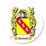 Hastwell Round Car Magnet