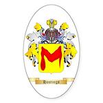 Hastings Sticker (Oval 50 pk)