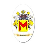 Hastings 20x12 Oval Wall Decal