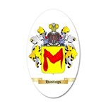 Hastings 35x21 Oval Wall Decal