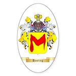 Hasting Sticker (Oval 50 pk)