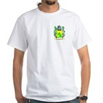 Hastie White T-Shirt