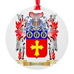 Hastaline Round Ornament