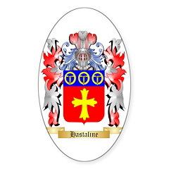 Hastaline Sticker (Oval 10 pk)