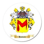 Hastain Round Car Magnet