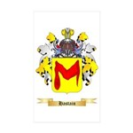 Hastain Sticker (Rectangle 10 pk)