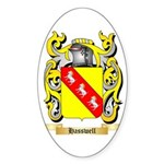 Hasswell Sticker (Oval 50 pk)