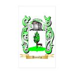 Hasslip Sticker (Rectangle 50 pk)
