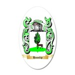 Hasslip 20x12 Oval Wall Decal
