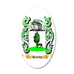 Hasslip 35x21 Oval Wall Decal