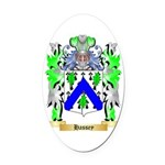 Hassey Oval Car Magnet