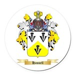 Hassell Round Car Magnet
