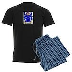 Hasse Men's Dark Pajamas
