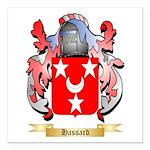 Hassard Square Car Magnet 3