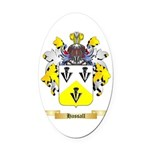 Hassall Oval Car Magnet