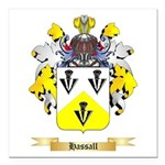 Hassall Square Car Magnet 3