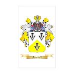 Hassall Sticker (Rectangle 50 pk)
