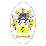 Hassall Sticker (Oval 50 pk)