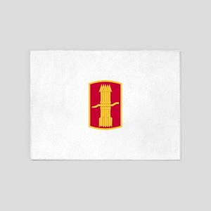 197th Field Artillery Brigade 5'x7'Area Rug