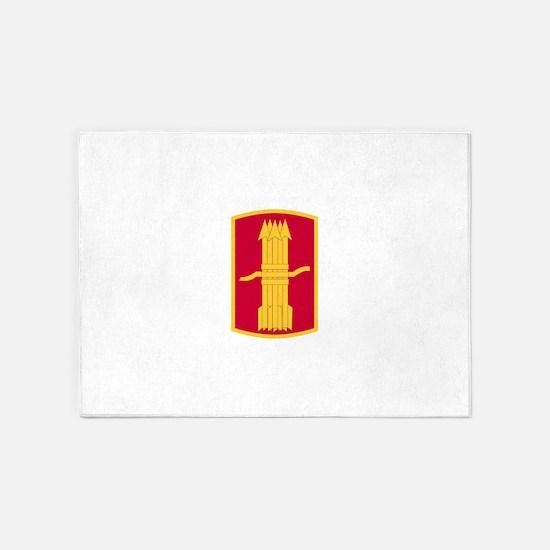 197th Field Artillery Brigade.png 5'x7'Area Rug