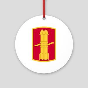 197th Field Artillery Brigade Ornament (Round)