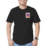 Haslewood Men's Fitted T-Shirt (dark)