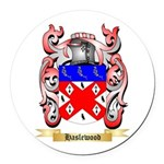 Haslewood Round Car Magnet