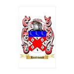 Haslewood Sticker (Rectangle 50 pk)