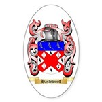 Haslewood Sticker (Oval 50 pk)