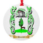 Haslett Round Ornament