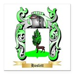 Haslett Square Car Magnet 3