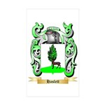 Haslett Sticker (Rectangle 50 pk)