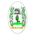Haslett Sticker (Oval)