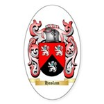 Haslam Sticker (Oval 50 pk)