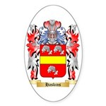 Haskins Sticker (Oval 50 pk)