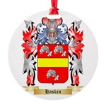 Haskin Round Ornament