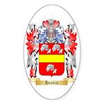 Haskin Sticker (Oval)