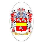 Haskin Sticker (Oval 50 pk)