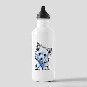 Westie Wesley Water Bottle