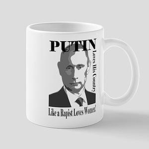Putin Loves Country Rapist Mugs