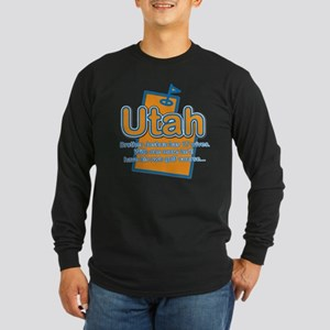 Utah Long Sleeve Dark T-Shirt