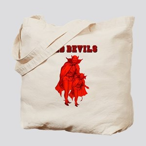 Red Devils Tote Bag