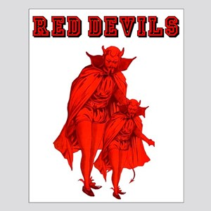 Red Devils Small Poster