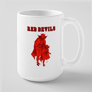 Red Devils Large Mug Mugs