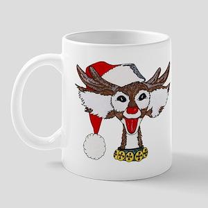 Reindeer Santa Mug