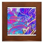 Blue Dream Framed Tile