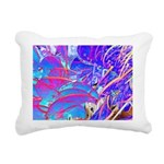 Blue Dream Rectangular Canvas Pillow