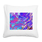 Blue Dream Square Canvas Pillow